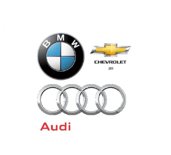 Chevrolet, Audi ve BMW'nin İsim ve Logolarının Tarihçesi