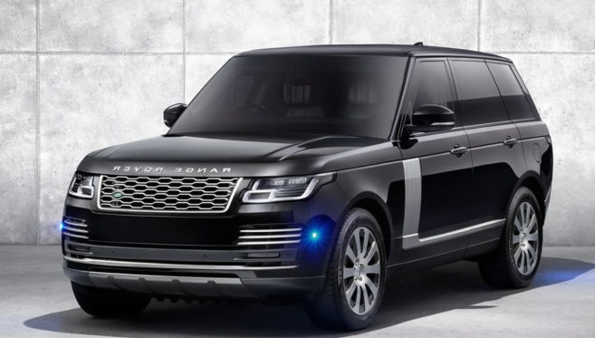 2019 Model Yeni Range Rover Sentinel