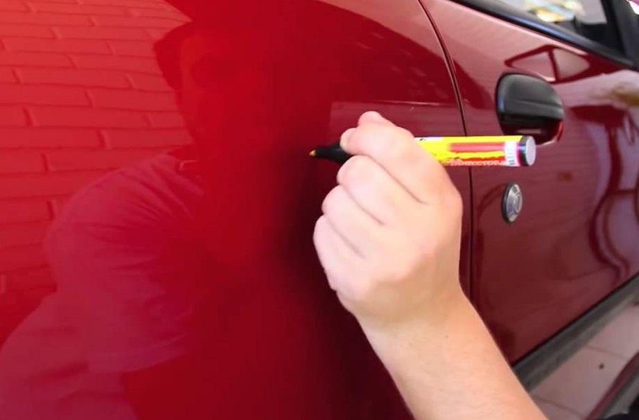 Arabada Çizikler Nasıl Giderilir