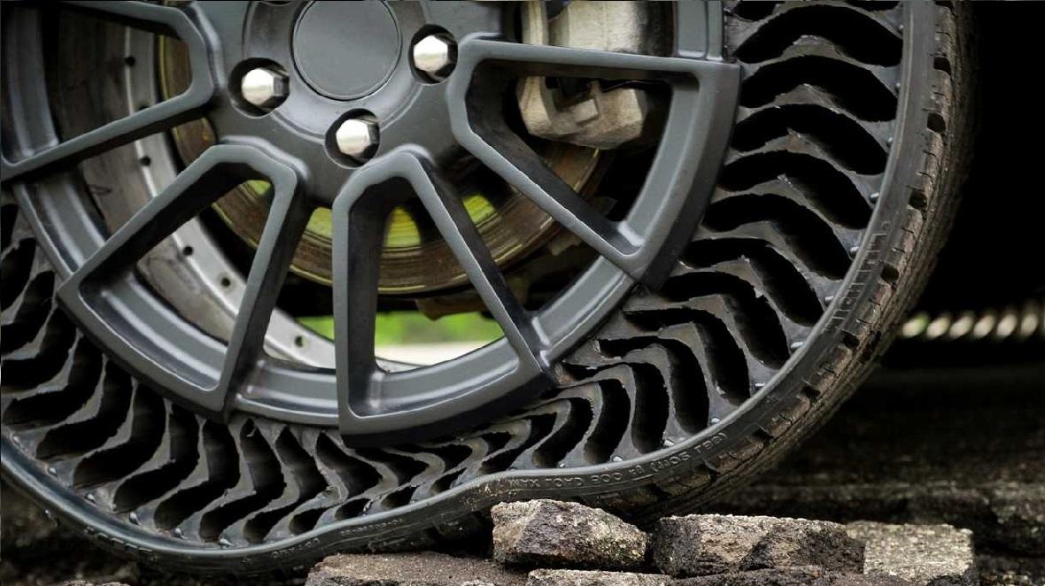 Michelin Yeni Nesil Havasız Lastik Modelini Tanıttı