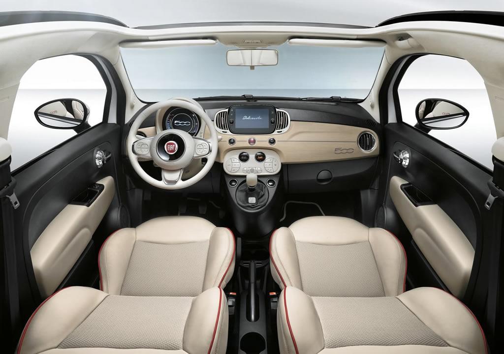 2019 Fiat 500 Dolcevita Kokpiti