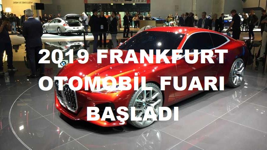 2019 Frankfurt Otomobil Fuarı