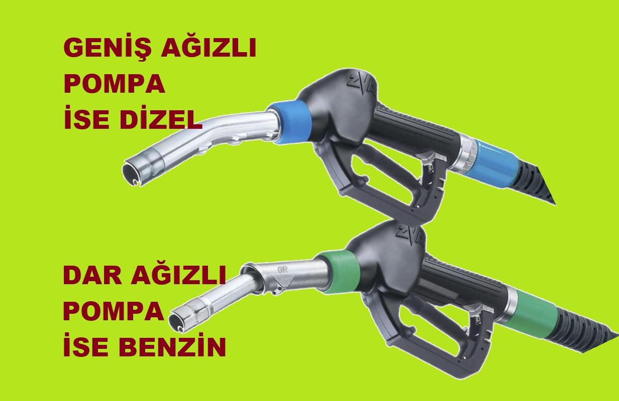 Arabanıza yanlış yakıt 1