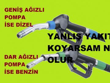 Arabanıza yanlış yakıt 2