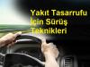 Yakıt Tasarrufu için Sürüş Teknikleri